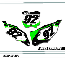 Kawasaki KX450F 2019-2020 quick ship number plates