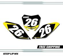 Suzuki RMZ 250 2010-2020 quick ship number plates