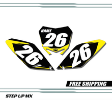 Suzuki RMZ 250 2010-2018 quick ship number plates