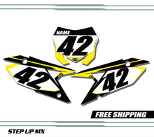 Suzuki RMZ 450 2018-2020 quick ship number plates