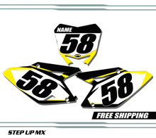 Suzuki RMZ 450 2008-2017 quick ship number plates