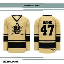 Puck Slayers Jersey with name and number