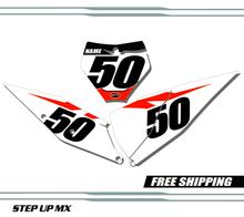 KTM 250-450 2019-20  Factory - Plates