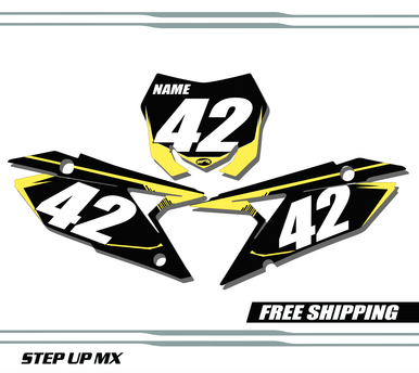 Suzuki RMZ 250 2019-2020 quick ship number plates
