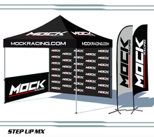 10 X 10 Custom Printed Canopy kit with Walls and Flags