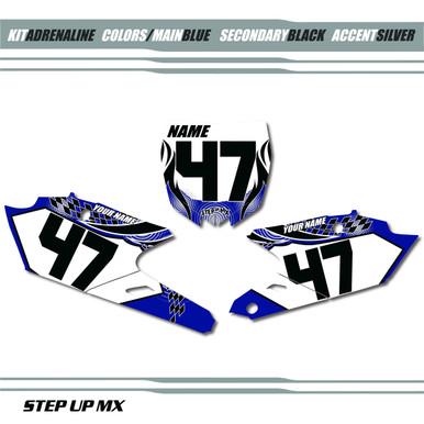 Yamaha Adrenaline Number Plates