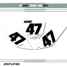 Suzuki Racer Plates