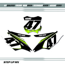 Qualifier Kawasaki Number Plate Backgrounds