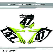 Razor Kawasaki Number Plates