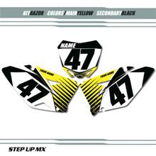 Razor Suzuki Number Plates