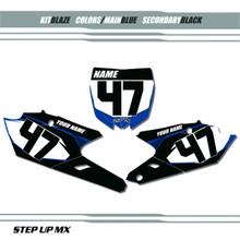Blaze Yamaha Number Plates