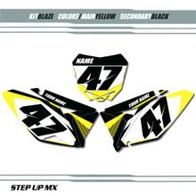 Blaze Suzuki Number Plates