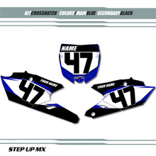 Crosshatch Yamaha Plates