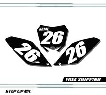 Suzuki RMZ 250 2010-2018 quick ship number plates-racer