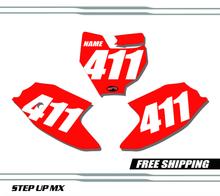 KTM 50 SX 16-20 Number Plates - Racer
