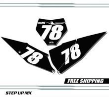 KTM 250 450 SX-F 19-20 Number Plates - Racer