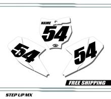 KTM 65 SX 16-20 Number Plates - Racer