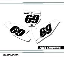 KTM 85 SX 18-20 Number Plates - Racer