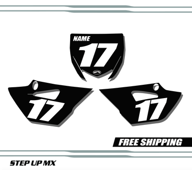 Yamaha YZ85 15-20 Number Plates - Racer
