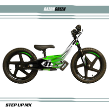 Stacyc Razor Decal Kit Green