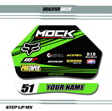 Green Qualifier Pit Board Decal