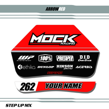 Red Arrow Pit Board Decals