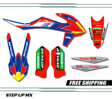 KTM SX SXF 2019-22 Factory21 Style Option Without Number Plates