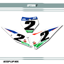 FACTORY21 STYLE NUMBER PLATE BACKGROUNDS SHOWN WITH WHITE BACKGROUNDS BLACK NUMBERS