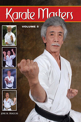 """After the acclaimed success of the """"Karate Masters"""" series, the author presents """"Karate Masters"""" Volume 5. With a new repertoire of historical figures, such as Hideo Ochi, Yoshimi Inoue, Sadaaki Sakagami, Masaru Miura, Genzo Iwata,, Katsuhiro Tsuyama, Yasuyoshi Saito, Nobuaki Kanazawa, Jerry Figgiani and legendary Okinawa masters like Kensei Taba, Takeshi Tamaki, Masahiko Tokashiki and Toshihiro Oshiro, amongst others, the many threads of traditional karate learning, lore, and legend are woven together. In this final volume, new interviews have been gathered to present an integrated and complete view of the empty-handed art of fighting, philosophy, and self-defense. This volume contains intriguing thoughts, fascinating personal details, hidden histories, and inspiring philosophies, as each master reveals his true love for the art and a deep understanding of every facet associated with the practice and spirit of the Japanese and Okinawan art of Karate-do as a way of life. It's a detailed reference work, and a """"must have"""" addition to your personal library."""