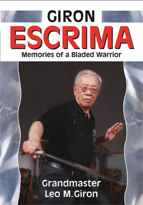 GIRON ESCRIMA – MEMORIES OF A BLADED WARRIOR By Grandmaster Leo M. Giron Due largely to its effectiveness, Escrima is one of the world's most popular martial arts systems. Grandmaster Leo M. Giron designed this method to overcome a larger and stronger opponent in life-or-death encounters. Giron's Escrima contains many ingenious exercises and strategies while remaining the essence of simplicity.  Giron's Escrima knowledge has been in great demand by thousands of Escrima, Arnis, and Kali students from all over the world—and now for the first time, the original work of Grandmaster Giron is brought to the public with the most comprehensive information ever published in an Escrima book.  Packed with photos taken with painstaking care to assure correct positioning and execution, this volume covers all of the fundamental and advanced principles as taught by the late Grandmaster Leo M. Giron.