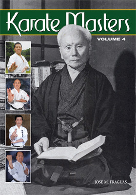 """After the acclaimed success of the first three volumes of Karate Masters, the author proudly presents """"Karate Masters 4"""", with a new repertoire of historical figures, such as Yutaka Yaguchi, Ken Funakoshi, Kunio Murayama, Hiroyoshi Okazaki, Hiroyashu Fujishima, Richard Amos, Shoji Nishimura,Takeshi Uchiage, Gene Tibon, Del Saito, Tonny Annesi, Frank Smith, George E Mattson, Sam Moledzki, Nick Adler and Les Safar amongst other world-recognized masters. In this fourth volume, new interviews with the world's top Karate masters have been gathered to present an integrated and complete view of the empty-handed art of fighting, philosophy, and self-defense. Containing information that has not appeared anywhere else, the interviews contain intriguing thoughts, fascinating personal details, hidden history, and revealing philosophies as each master reveals his true love for the art and a deep understanding of every facet associated with the practice and spirit of the Japanese art of Karate-do as a way of life. It's a detailed reference work, and a """"must have"""" addition to your personal library."""