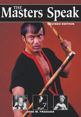 "This book gives rare insights into the physical, mental, and spiritual methods that have enabled these chosen few to reach the pinnacles of their particular styles. Jeet kune do icon Dan Inosanto, kickboxing great Bill ""Superfoot"" Wallace, escrima master Edgar Sulite, kenpo legend Ed Parker, taekwondo expert Jun Chong, and muay Thai master Surachai Sirisute – just to name a few – share thoughts and experiences in rare interviews that define the essence of their martial arts mastery. For the first time, interviews with some of the world's top Martial Arts masters have been gathered together in one book.No matter how well you think you know these masters, you haven't truly experienced their wit, wisdom, and insight until you have read The Masters Speak!"