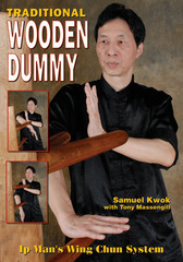 The Wing Chun wooden training dummy is a training device designed to correct technique and structure as well as increase power, speed, accuracy, and conditioning. Learn the true Original Ip Man's Wing Chun Wooden Dummy form from Grandmaster Samuel Kwok. This book is a complete step-by-step guide to the Wooden Dummy hands techniques, legs application, and footwork. All the original sections are demonstrated clearly from start to finish, in different camera angles to facilitate easy and accurate learning. There also is a description of each segment and its most common training mistakes to improve not only your technique, but your level of understanding. In addition to teaching the skills on the wooden dummy, Grandmaster Samuel Kwok demonstrates the applications of the wooden dummy training techniques on a partner, giving an excellent idea of the combat effectiveness of each movement.