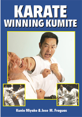 This introduction to sport competition teaches you in detail how to use your potential and your technical skills to defeat your opponents in Karate competition. Master Miyake shows hundred of basic, intermediate, and advanced sparring combinations used by the great karate champions in the sport. This is the perfect guide to understand offensive and defensive tactics as used in elite competition, making it the most authoritative handbook of its kind about the subject of kumite. This book is for all students attempting to bridge the gap between  Karate basics and winning tournament competition. It is heavily illustrated with sequential photographs of Miyake Sensei in action.