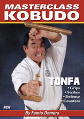 "Originally adapted from an Okinawan farm implement, martial artists today use the Tonfa to perform kata (techniques) and as a practical weapon. Former national free-fighting champion from Japan, a member of the ""Black Belt Hall of Fame"" and Kobudo authority, Sensei Fumio Demura teaches proper grips, striking techniques, stances, defense moves, attacks and other techniques that will improve your overall skill and coordination. (Approx. 46 min.)"