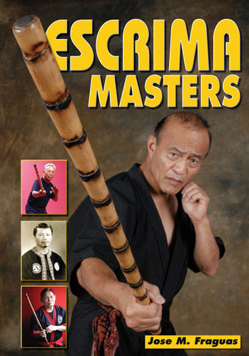 """A rare and definitive book featuring the top masters of the Filipino Martial Arts of Escrima, Kali and Arnis. This outstanding compilation gathers the best masters in one comprehensive volume. In their own words, they explain the philosophy, training and spirit of the art. This book gives rare insights into the physical, mental, and spiritual methods that have enabled these chosen few to reach the pinnacles of the Filipino Martial Arts. Dan Inosanto, Ben Largusa, Leo Giron, Edgar Sulite, Cacoy Canete. Rene Latosa – just to name a few – share thoughts and experiences in rare interviews that define the essence of their martial arts mastery. For the first time, interviews with some of the world's top Escrima/Kali/Arnis masters have been gathered together in one book. No matter how well you think you know these masters, you haven't truly experienced their wit, wisdom, and insight until you have read """"Escrima Masters""""!"""