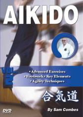 AIKIDO Volume 2 By Sam Combes In this five-volume traditional martial arts DVD series, Sam Combes sensei—a retired police officer who holds a seventh-dan black belt—teaches aikido kata, self-defense and weapons techniques, which form the cornerstone of this highly effective ancient art.   Volume 2 covers advanced exercises, footwork to improve agility, key elements and techniques. Examples of internal spiritual power are also covered in this video.