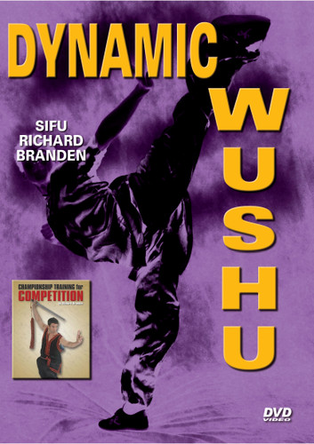 """DYNAMIC WUSHU  By Richard Branden   Sifu Richard Branden, the founder and force behind Studio Kicks Palo Alto was a six-time world champion in Chinese martial arts (commonly referred to as Kung Fu or Wushu). Internationally recognized and rated #1 in the U.S. for ten consecutive years, Mr. Branden's awards included over 35 national titles and 5 Hall of Fame awards. He was featured in numerous national and international martial arts publications, and a few of his roles in the entertainment industry include WMAC Masters' Ying-Yang Man, """"Mortal Kombat"""" and original stunt cast member of """"Mighty Morphin Power Rangers"""". Based on his profound respect for martial arts — he experienced first hand how it can significantly influence and shape a person's life and perspective in a positive way through focus, discipline, confidence and overall mental and physical fitness. This DVD shows his training and championship skills in the art of Wushu. He passed away on Wednesday, December 11, 2013. Richard was a resident of Sunnyvale, California"""