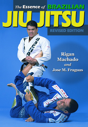 "THE ESSENCE OF BRAZILIAN JIU JITSU - Revised Edition by Rigan Machado & Jose M. Fraguas  The effectiveness of Jiu-Jitsu in real fights came into prominence in the early 90's when jiu-jitsu expert Royce Gracie won the ""Ultimate Fighting Championships fighting"" against much larger opponents. This book is a must for all martial artists regardless of their style. This Revised Edition of the title encompasses an enormous variety of techniques, including arm locks, chokes and leg locks. With more than 700 photos and a clear and descriptive narrative, The Essence of Brazilian Jiu-Jitsu is one of the classic books about this martial art system.   Rigan Machado is an 8th degree black belt in Brazilian Jiu Jitsu. He is a former Jiu Jitsu world champion and a veteran of the ADCC. Professor Machado began competing at the world championship level at the age of 14, and won his first Brazilian National Championship in the yellow belt division. He amassed a record of 365 wins and no losses in Brazilian Jiu Jitsu competition. He also created a record by having 19 matches in one day and finishing all of them by submission. He also has competed and won in other styles of grappling, such as Judo and Sambo, in which he took second place in the World Championships. Rigan is considered as one of the greatest Brazilian Jiu Jitsu teachers in the world.  Jose M. Fraguas is regarded as one of the world's top leading authorities and writers in Martial Arts. His pioneering work in the field has inspired others to follow but only a few in history, have successfully brought such a drive and scholarship to their work around the world. Fraguas has practiced, taught and written on Martial Arts for over 45 years. As former professional athlete and Strength and Conditioning training specialist, his desire is to integrate Martial Arts philosophy, training and values into everyday life. Originally from Madrid, Spain, he currently resides in Los Angeles, California."