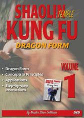 "SHAOLIN KUNG FU VOL. 1 DRAGON FORM By Master Steve DeMasco Black Belt Hall of Fame member Steve DeMasco shares his knowledge from years of training with the some of the most famous Chinese grandmasters in the world. In this Series, Steve DeMasco demonstrates these fundamental martial arts techniques from Shaolin Kung Fu. Since 1997, Steve DeMasco—a 10th-degree black belt in Shaolin Kempo— has traveled to China every year to train with the senior monks of the famous Shaolin Temple. Master Steve DeMasco's inside training with the monks at the fabled Shaolin Temple has afforded him the opportunity to share their unique curriculum with the world. ""These techniques were designed 1,500 years ago and have been practiced by the Shaolin monks. The Shaolin Kung Fu system is derived from animal techniques: the tiger, the crane, the leopard, the snake and the dragon. If you watch closely, you'll see the characteristics of some of these animals — especially the snake, the crane and the tiger."" Dragon Form Concepts & Principles Applications Step-by-step instructions"