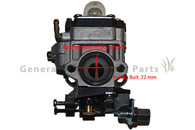 Chainsaw Bush Cutter 1E36F Motor Engine 26cc Carburetor