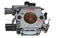 Zenoah Komatsu Chainsaw Leaf Blower Grass Trimmer Carburetor 45cc - 52cc - MC1600