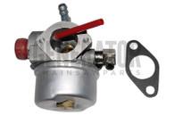 Tecumseh 640076 640076A 640119 Engine Motor Carburetor w Gasket