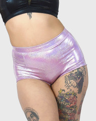 Stiletto High Waist Hologram Lilac