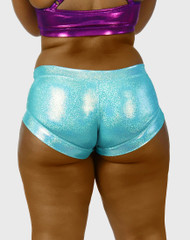Stiletto Low Waist Hologram Aqua