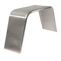 "Single Axle Aluminum Fender 10""x 34"""