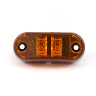 "Sidemarker/Clearance Light -  2-1/2"" LED - Amber"