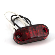 "Sidemarker/Clearance Light - 2-1/2"" LED - Red"
