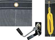 Dump Tarp  6' x 14' Mesh w/Hardware Kit