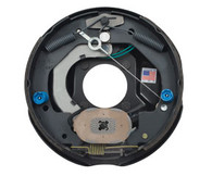"""Brake Assembly Electric 10"""" Self Adjust Left Hand  ( Mounting nuts included)"""